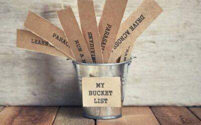 Words of Wisdom: My Bucket List